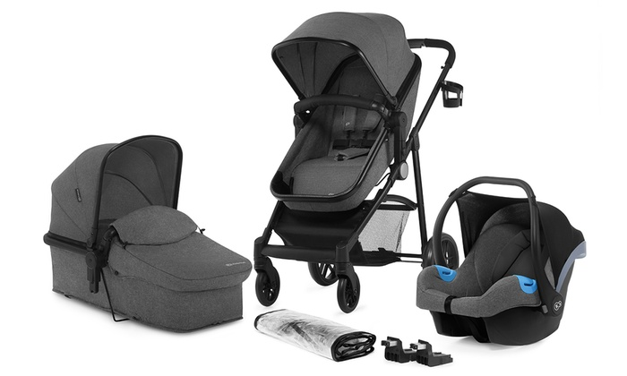 Kinderkraft Juli Three-in-One Multi-Functional Stroller Travel System