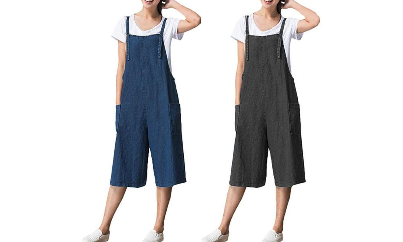 One or Two Cropped Jumpsuits (£12.98)