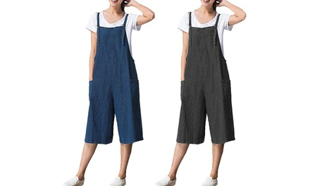 One or Two Cropped Jumpsuits