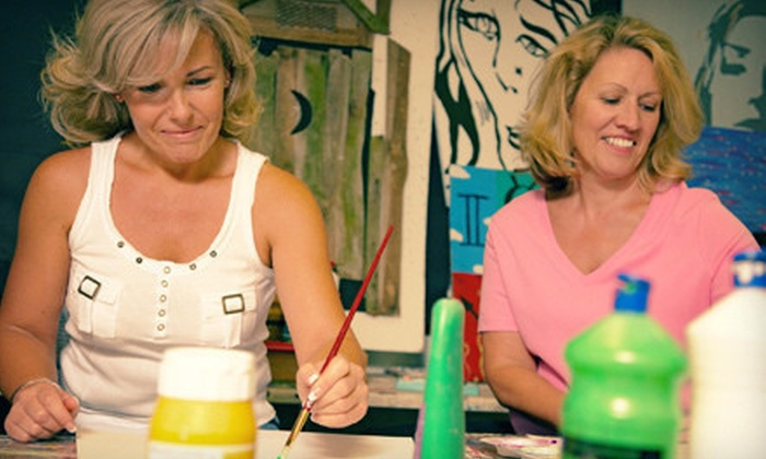 Van Grow Studio of the Arts - Monticello: $15 for $30 Worth of Pottery Painting on Ladies Night at Van Grow Studio of the Arts