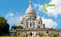 Paris: Komfort-Doppelzimmer für 2 Personen mit Frühstück und opt. Blick auf Sacré Cœur im 4* Best Western Le Paris 18