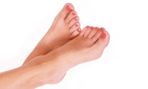 Pedicure, Two Or Four Foot-fungus Treatments, Or A Treatment With Keryflex At Kentner Podiatry (up To 66% Off)