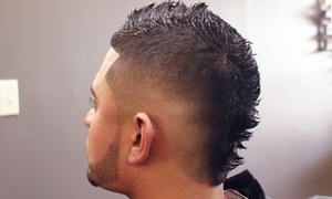 Stilo Barbershop: Father-and-Son Cuts, a Men's Cut and Shave, or Three Men's Full-Service Cuts at Stilo Barbershop (Up to 42% Off)