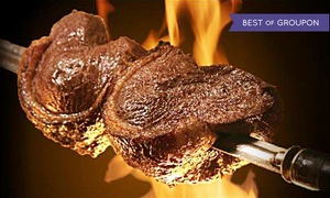 Up to 50% Off Rodizio-Style Cuisine at Samba Brazilian Grill at Samba Brazilian Grill, plus 6.0% Cash Back from Ebates.