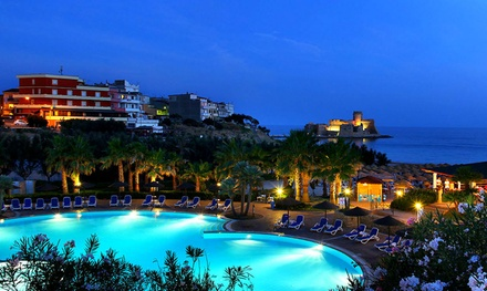 Calabria: 7 notti per 1 in pensione completa con 1 ingresso Spa e bimbo fino a 15 anni gratis al Baia degli Dei 4*L