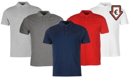 Polo homme Pierre Cardin, manches courtes, coloris et tailles au choix à 14,99€ (60% de réduction)