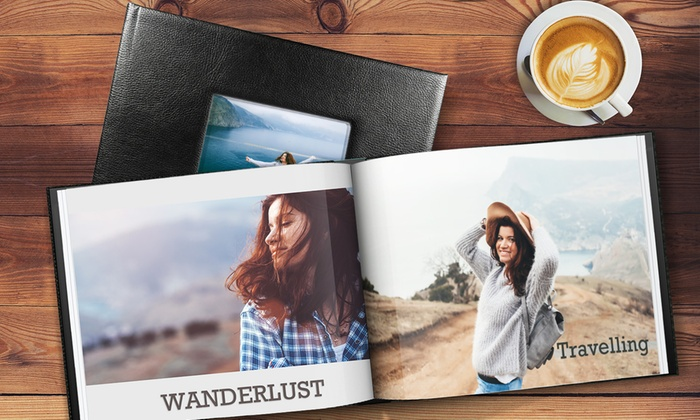 Album photo en cuir A5 et A4 de 20, 40 ou 60 pages à partir de 4,99 €
