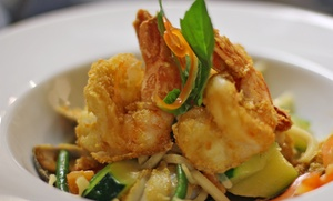 DD Thai Cuisine: Thai Food for Two or Four at DD Thai Cuisine (50% Off)