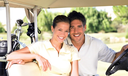 18 Holes of Golf with Cart Rental and Buckets of Balls for Two or Four at Rivermeadow Golf Course (50% Off)