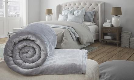 Rapport Home Faux Mink Blanket