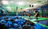 Rebounderz - Rebounderz - Grand Rapids: Two or Four Jump Passes, an Unlimited Summer Pass, or a Birthday Party for 10 at Rebounderz (Up to 30% Off)