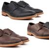 Vincent Cavallo Men's Cap-Toe Dress Shoes