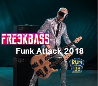Single-Day Admission to FRE3KBASS for One or Two at Rum 138 on 12/28/18 (Up to 30% Off)