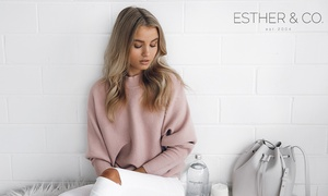 ESTHER & CO: $25 to Spend on Clothes Online (Min Spend $75) at ESTHER & CO