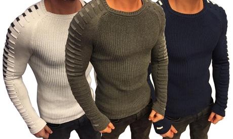 Jersey con mangas ajustadas