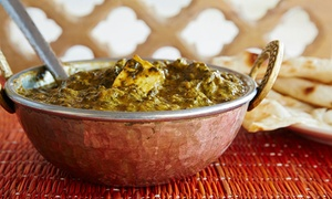 Indian Whisper Restaurant: Three-Course Indian Dinner for Two ($42) or Four ($79) at Award-Winning Indian Whisper Restaurant (Up to $168 Value)