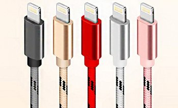 5-Pack of Lightning® Connector Cables