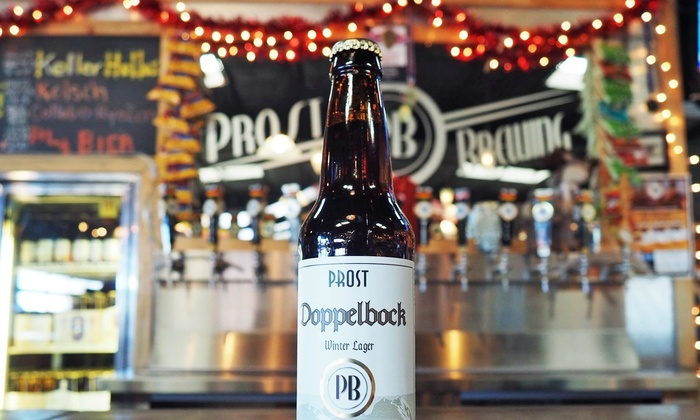 Prost Brewing Company - Highland: $15 for $20 Worth of German-Style Craft Beer at Prost Brewing Company