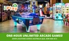 One-Hour Unlimited Arcade Games