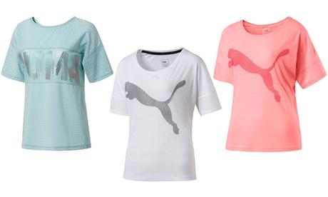 Camiseta para mujer Puma Oferta en Groupon