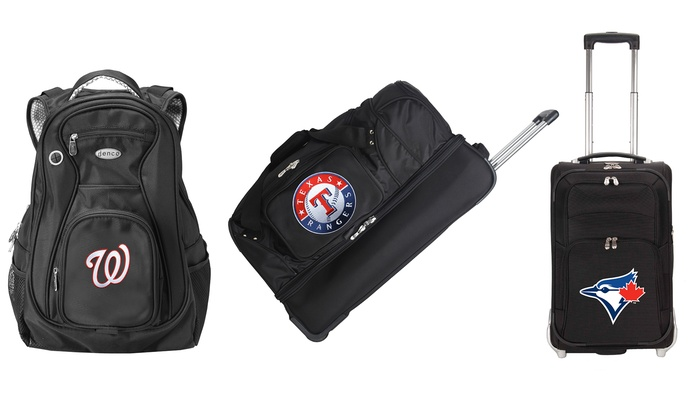 MLB Assorted Travel Luggage