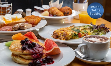 AYCE Buffet Breakfast + Drinks $25, 2 $49, 4 $89, 6 $133.50 or 8 $178, Relish Grill & Bar, Crowne Plaza