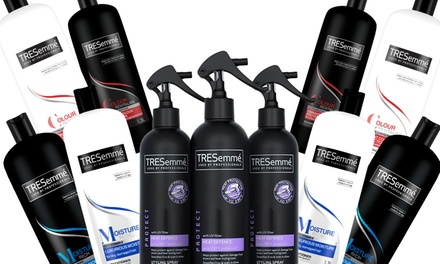 TRESemme Heat Defence Spray, Colour Revitalise or Moisture Rich Shampoo and Conditioner