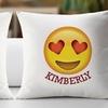 Customized Emoji Decorative Cushion Covers from Monogram Online