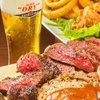 ビーフステーキBBQ食べ放題コース+海外ビール含む9種のビール飲み放題120分