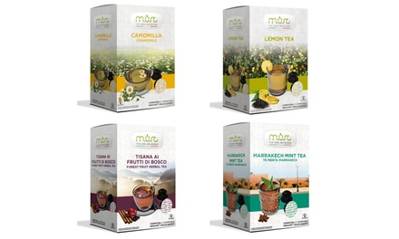 64 Dolce GustoCompatible MUST Tea, Fruit Tea and Herbal Infusion Capsules