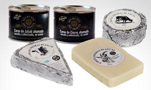 Cabaña Piedras Blancas 2: Desde $119 por quesos y fiambres variedad a elección en Cabaña Piedras Blancas