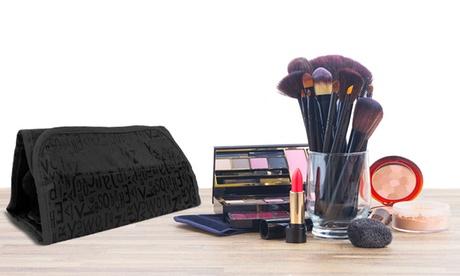 Brocha de maquillaje de cola de sirena con bolso organizador