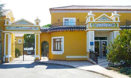 Murcia: habitación doble para 2 con desayuno o media pensión, early check-in y late check-out en Hotel Entresierras