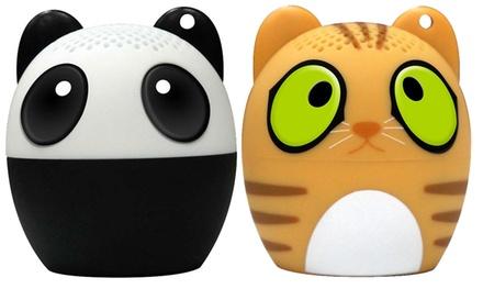 Mini altavoz Bluetooth de mascota con función de disparo Selfie y función manos libres