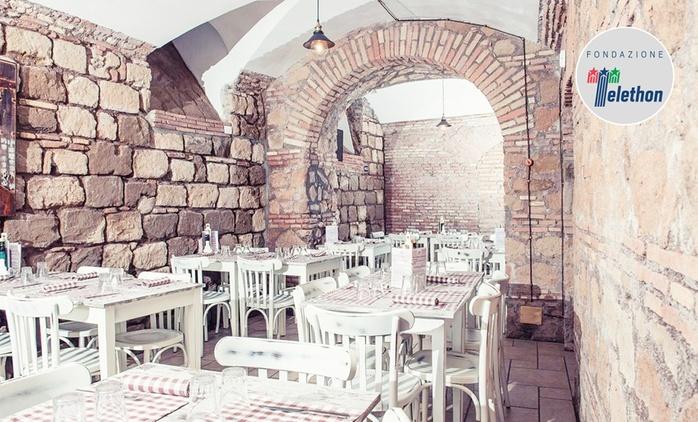 Menu tradizionale pugliese con vino per 2 persone a La Locanda dei Pugliesi, zona Viminale (sconto 57%)