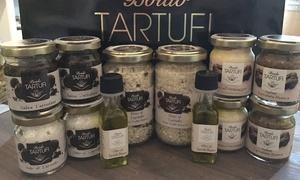 Boido Tartufi: Tartufotto Special Box con vasetti di olio, sale grosso, salsa, riso al tartufo da Boido Tartufi (sconto fino a 50%)