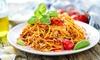 Pizza oder Pasta inkl. Salat und Softdrink