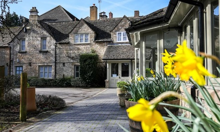 Cotswolds: 1 or 2 Nights for Two with Breakfast and Option for TwoCourse Dinner at Stratton House Hotel