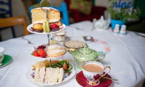 Ivy's Vintage Tea Room: Afternoon Tea for Two or Four at Ivy's Vintage Tea Room (Up to 50% Off)