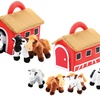 Plush Talking Horses and Barn Set (5-Piece)