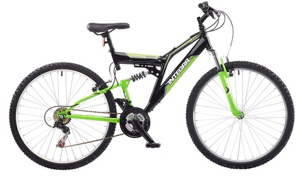 Integra Shox Dual Suspension Mountain Bikes