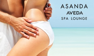 Asanda Aveda Spa Lounge: Women's or Men's Brazilian Wax or $50 for $100 Worth of Waxing Services at Asanda Aveda Spa Lounge