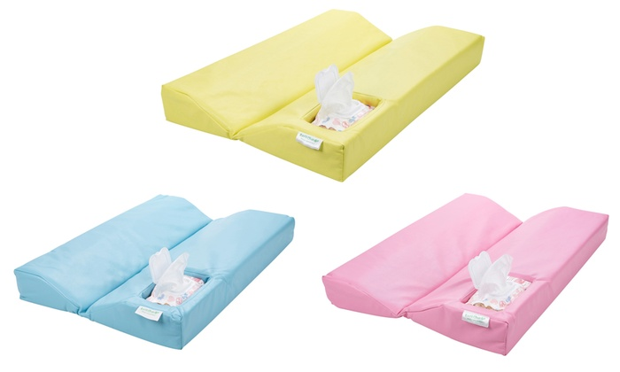 Changing Mat with Baby Wipe Compartment