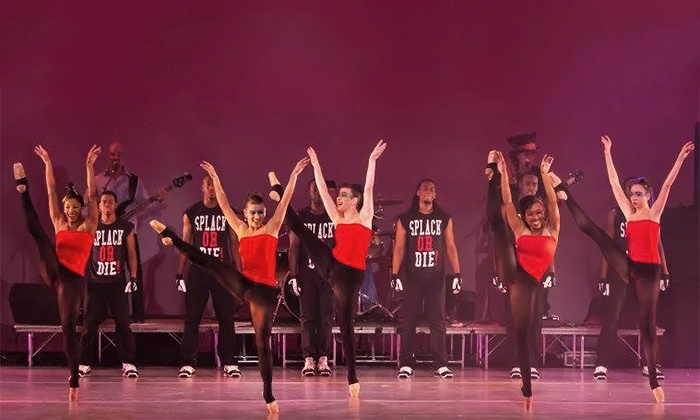 """World Ballet Presents """"World of Rock: Tribute to the Rock and Roll Hall of Fame"""" - Multiple Locations: """"World of Rock: Tribute to the Rock and Roll Hall of Fame"""" at Lee Hall Auditorium on April 12 or 13 (Up to 50% Off)"""