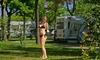 Ducha solar de bolsa portátil para acampadas