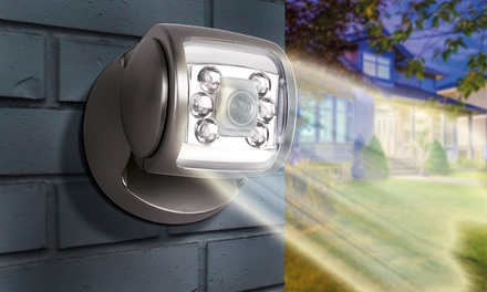1 o 2 focos LED inalámbricos con sensor de movimiento y base giratoria de 360°