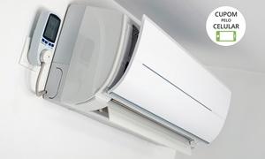 Black and White: Black and White: instalação ou manutenção + higienização de ar-condicionado