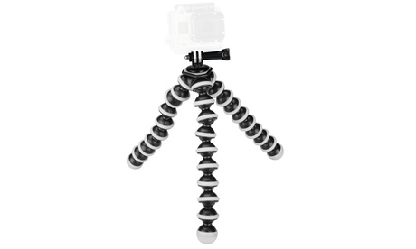 Sabrent Flexible Tripod with GoPro Mount Adapter
