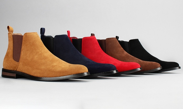 2a8cff2592ca Up To 65% Off on Harrison Men s Chelsea Boots