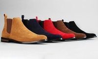 Harrison Mens Classic Scott Chelsea Boots Deals